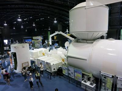 宇宙ステーション きぼうの実物大模型