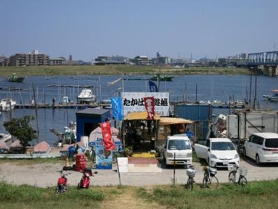 江戸川放水路 たかはし遊船