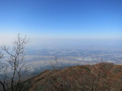筑波山 山頂からの眺め