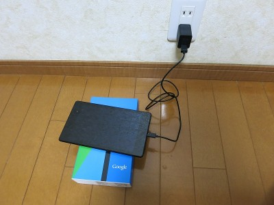 電源が入らないNexus7(2013)