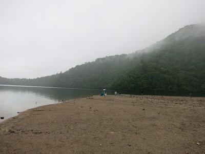 湖畔の様子