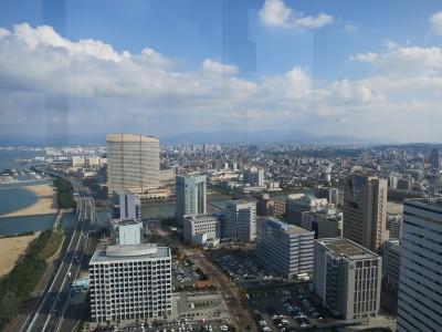 タワー展望台からの眺め