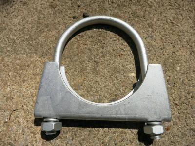 マフラー固定用のUクランプ