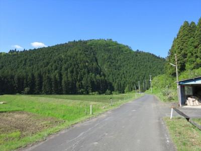 遠野オートキャンプ場への道
