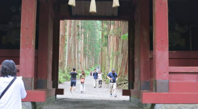 甲信越の旅 2日目(真田宝物館、戸隠神社、かにや横丁)
