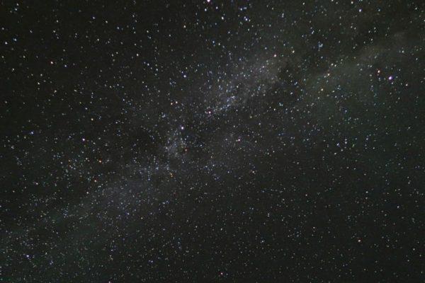 サイトから見た星空