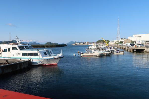 忠海港フェリー桟橋