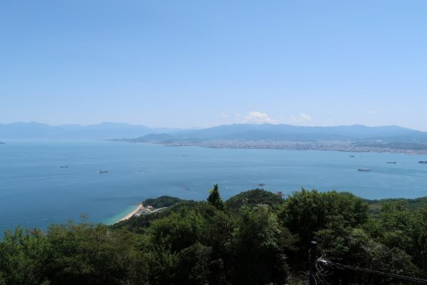 亀老山展望公園 展望台