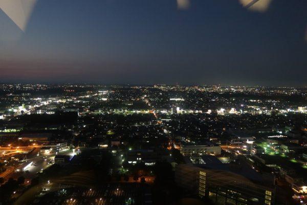 水戸駅方面 夜景