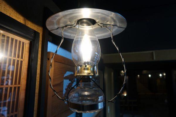 平家の庄 ランプ