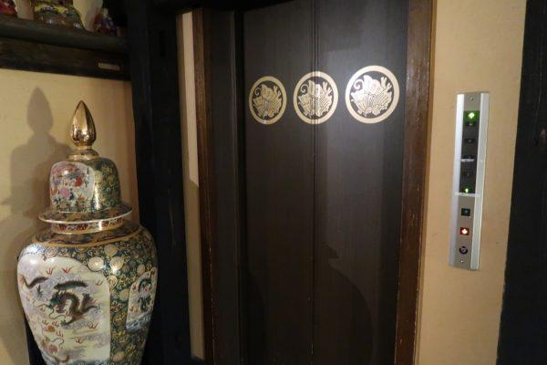 平家の庄 エレベーター