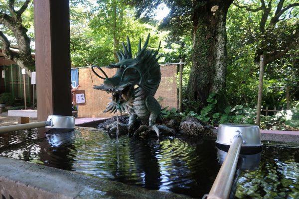 二本松寺 手水舎