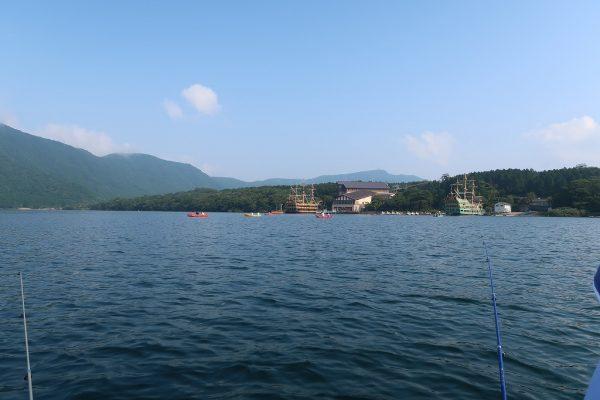芦ノ湖ワカサギ釣り