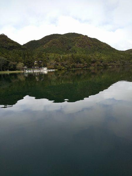 凪の榛名湖