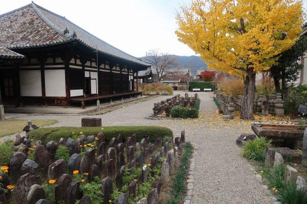 元興寺の紅葉