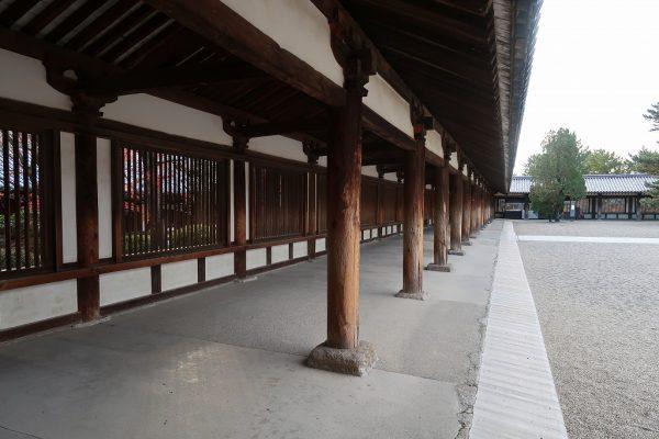 法隆寺 回廊