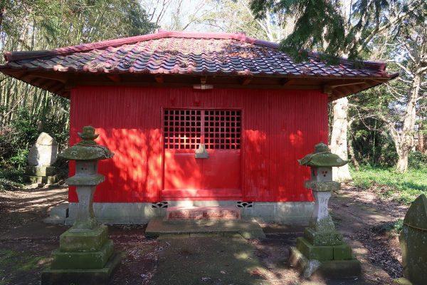白浜の稲荷神社