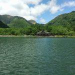 湯ノ湖で釣り