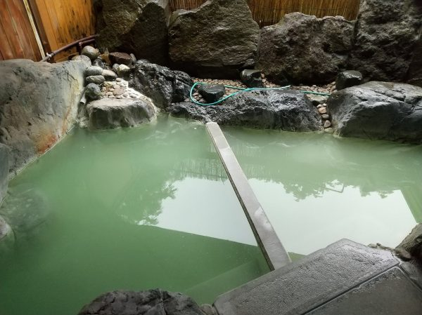 スパビレッジ カマヤ 露天風呂
